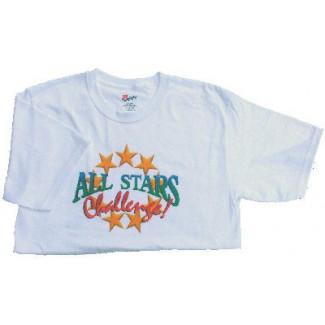 All Stars Challenge Tee Shirt - White