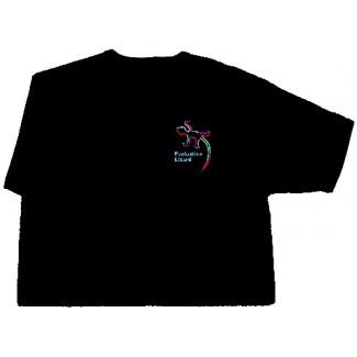 Evaluation Lizard Tee Shirt - Black